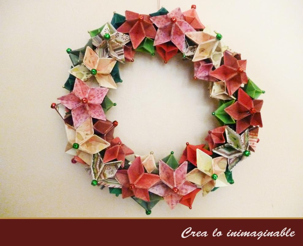 Origami Decoracion Navidad ~ Ya estoy instalada en la navidad y las decoraciones correspondientes