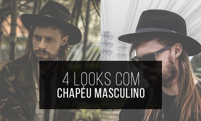 cb430c8e28940 Macho Moda - Blog de Moda Masculina  4 Looks com Chapéu Masculino ...