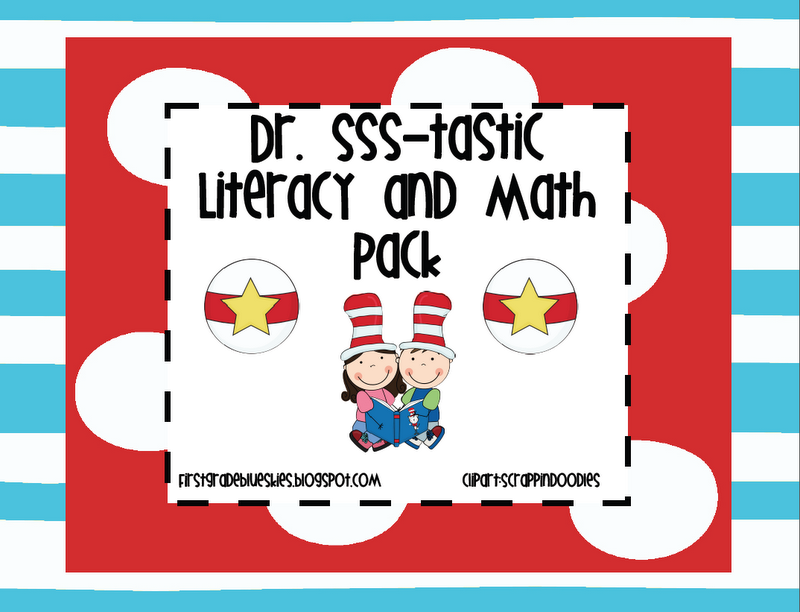 SeussTastic Math And Lit Pack