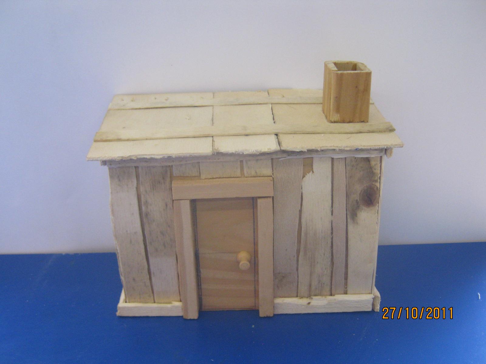 La clase de los ventolines los tres cerditos - La casa de madera ...