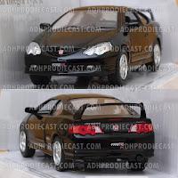 Miniatur Honda Integra Type R (Black-32K)