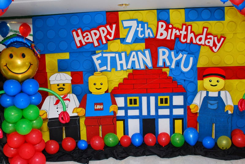 Ethan Ryus Lego Themed 7th Birthday Party