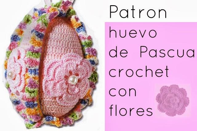 Huevos de Crochet Patron para Semana Santa