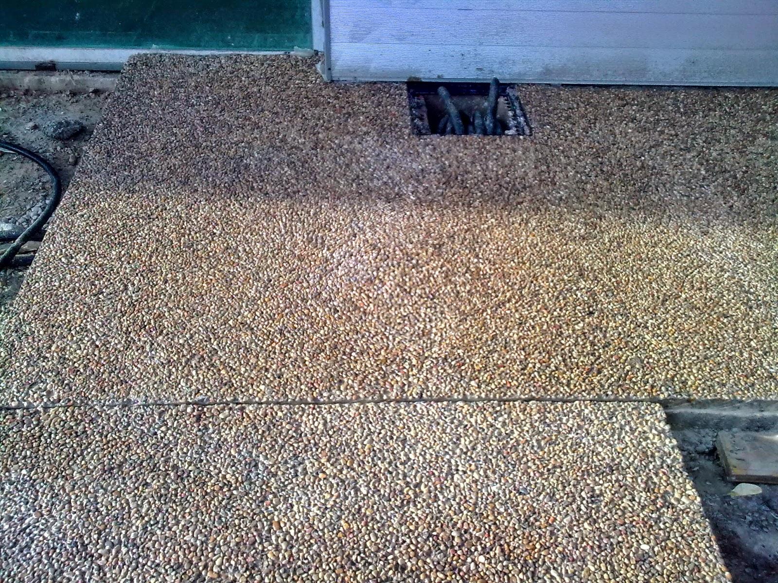 Hormig n desactivado pavimentos continuos de hormig n for Hormigon desactivado