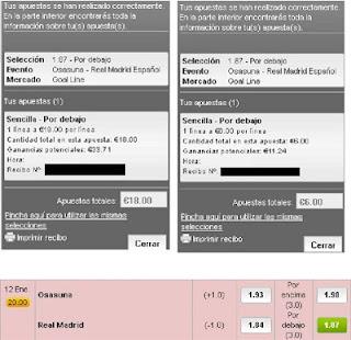 Apuestas Deportivas Rosberg Fútbol–Liga BBVA España lbapuestas real madrid osasuna