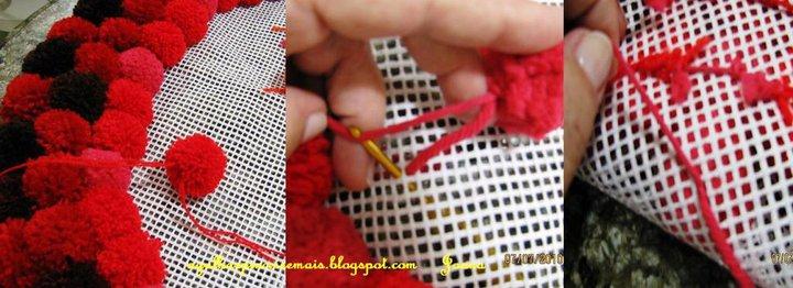 Как сделать ковер из ниток своими руками