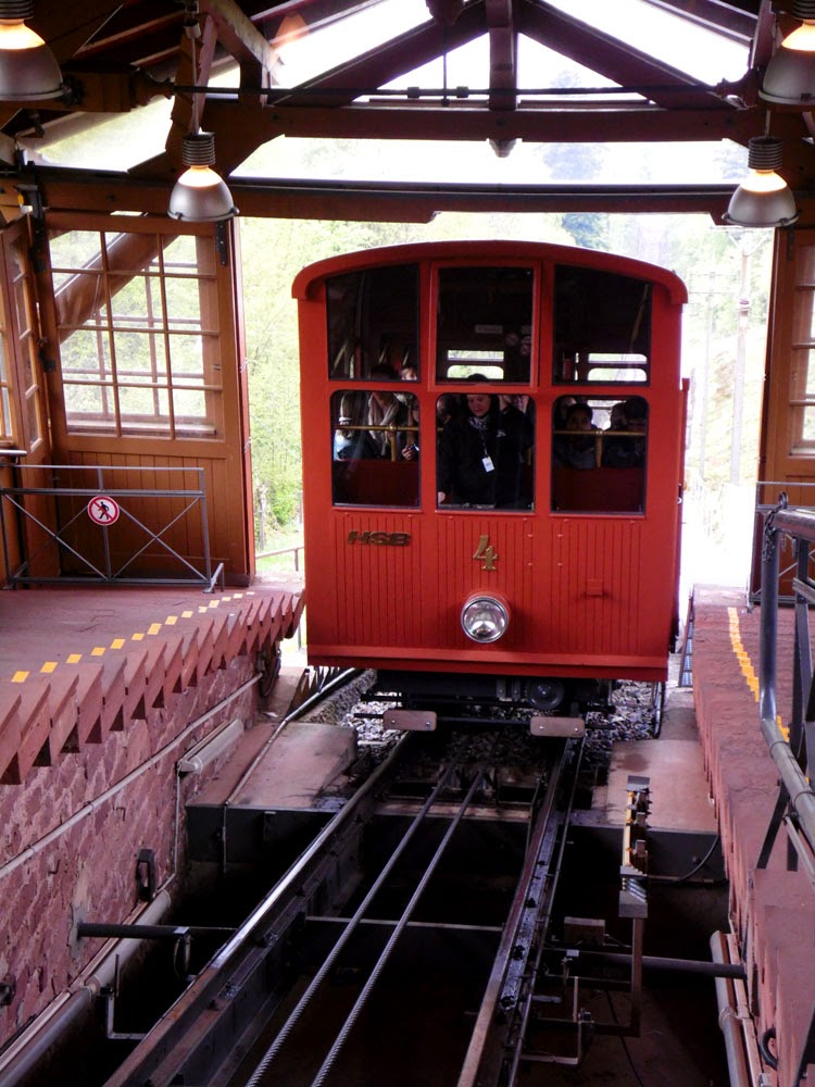 Heidelberger Bergbahn at the Königstuhl, taken by Andie Gilmour