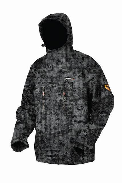 Quentin Combe Savage Gear Nouveautés News 2014 Vêtements Mimicry Veste Camouflage Urbain Numérique