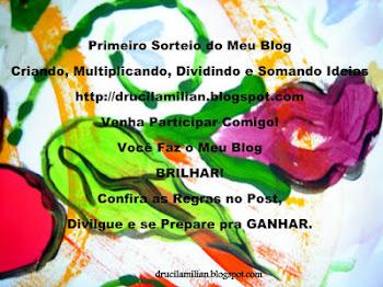 Primeiro Sorteio do Meu Blog: Participem!