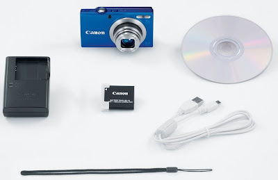 Canon PowerShot A4000IS completed with accessories