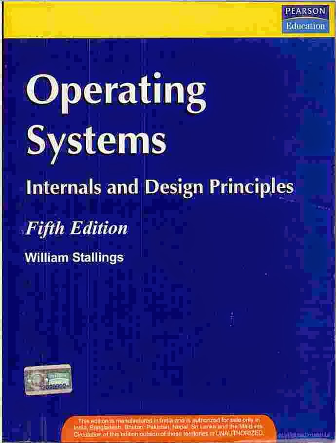 Galvin Operating System Pdf 5th Edition