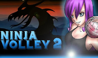 Screenshots of the Ninja volley 2 for Android tablet, phone.