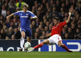 hasil perempat final leg Champions 2 5 April 2012 madrid dan chelsea menang