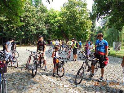 Craiova descoperita de pe bicicleta