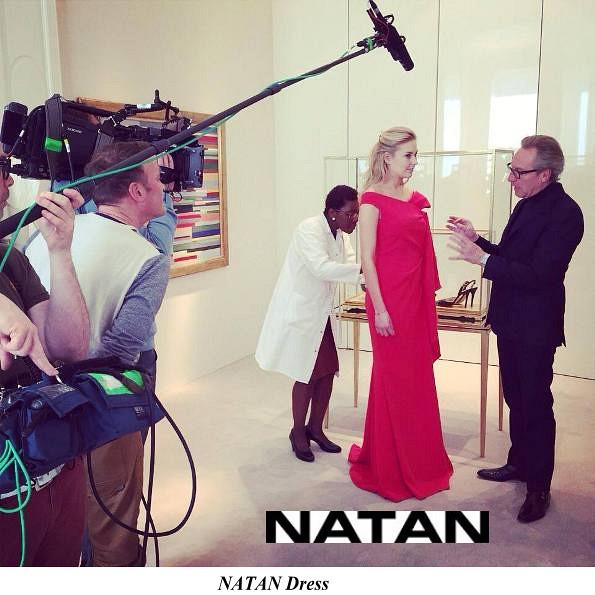 Queen Mathilde's Natan Dress