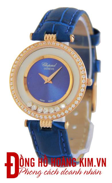 Đồng hồ nữ đính đá chopard đẹp