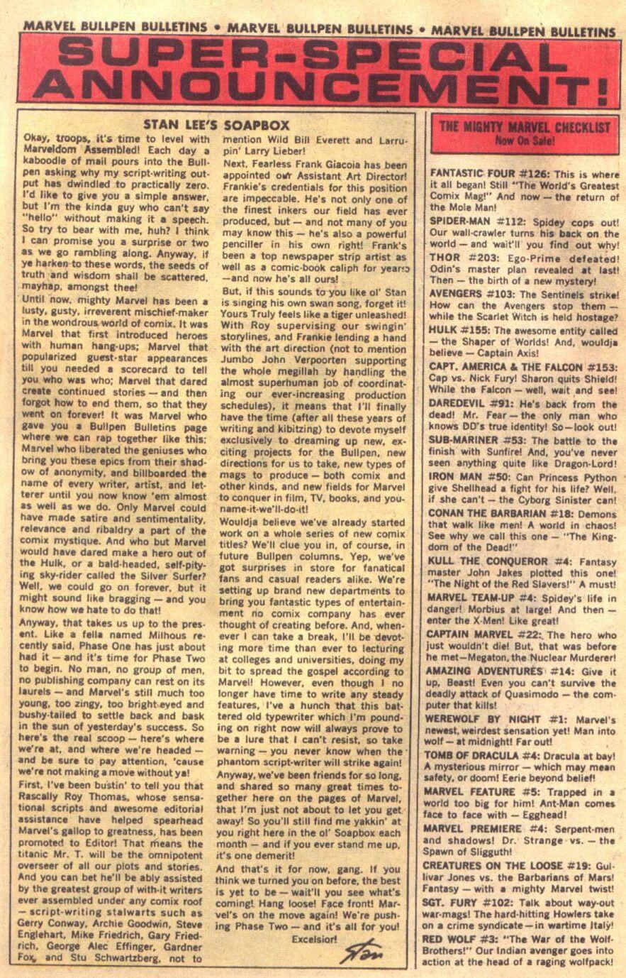 Conan the Barbarian (1970) Issue #18 #30 - English 8