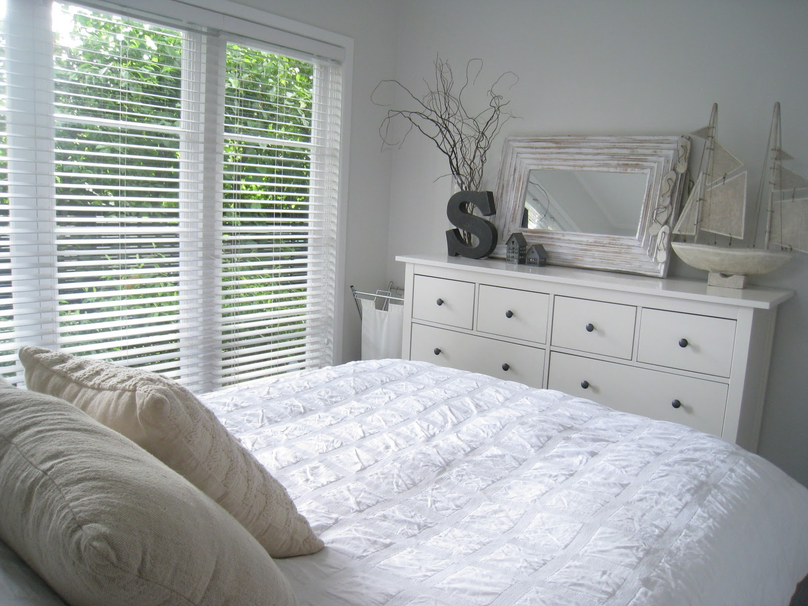 Sommerwhite our master bedroom for Master bedroom dresser ideas
