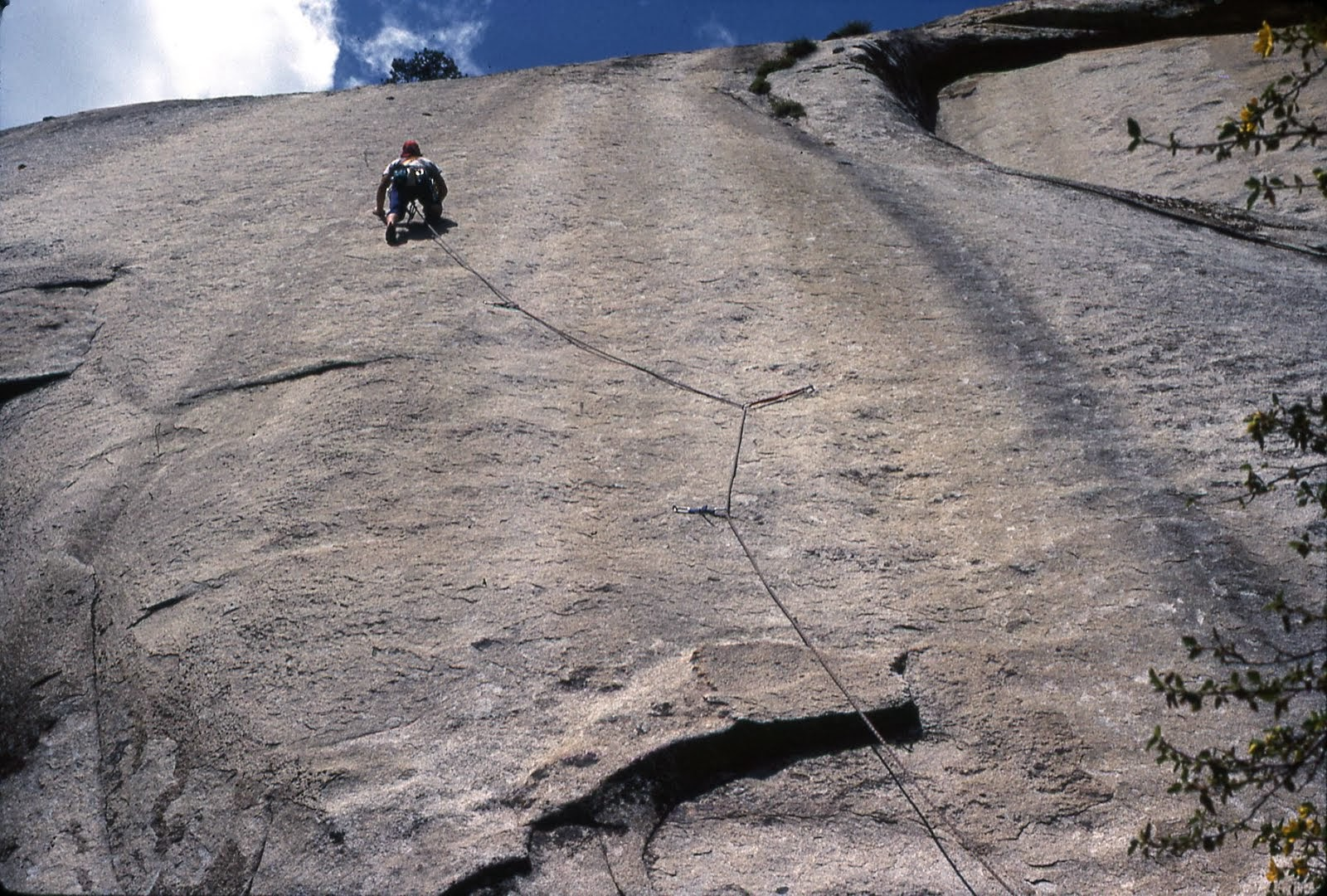 Second Ascent of 'Entasis' 5.11