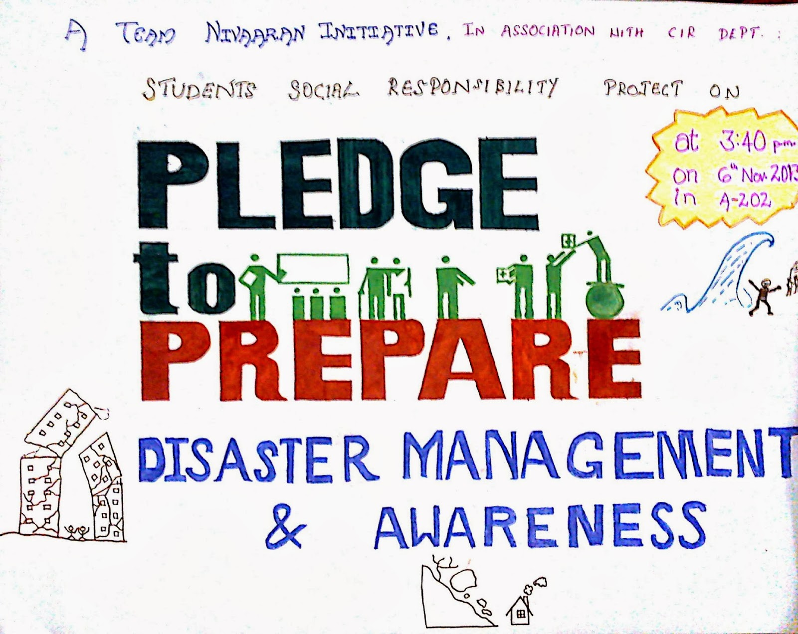 it for disaster management Disasters hurt the poor and vulnerable the most more than one-third of the world's poor live in multi-hazard zones, and low-income countries account for more than 70 percent of the world's disaster hotspots mainstreaming disaster risk management into development planning.