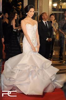 Kim Chiu Drop-Dead Stunner Award Dress