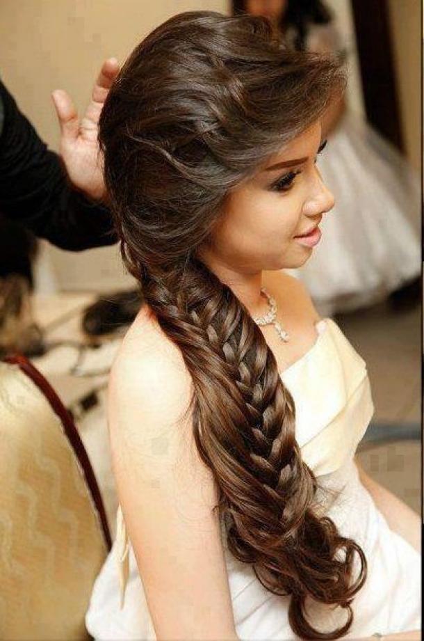Peinados de trenzas para fiestas de noche Peinados elegantes