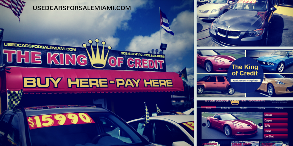 Buy Here Pay Here Miami >> King Of Credit Miami Used Cars Buy Here Pay Here