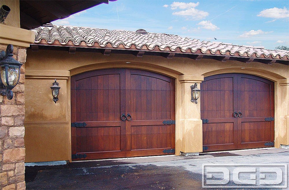 Wooden Garage Door Designs