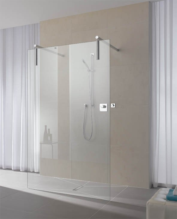 Aqualys burdin bossert prolians besancon paroi fixe pour douche l 39 ital - Ikea cabine de douche ...