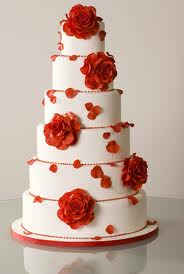 Romantic Wedding Cake Crumbs