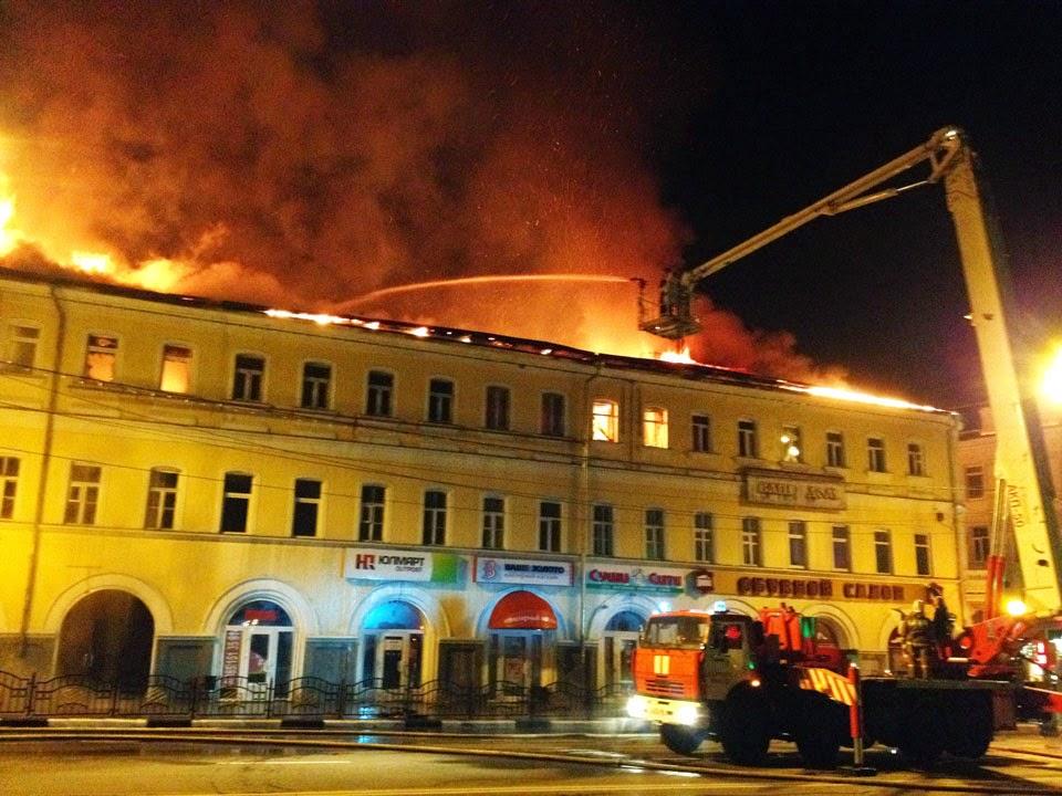 Пожар в Новой лаврской гостинице не испортил статистику, но потряс весь город.