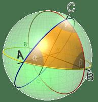 Треугольник с тремя прямыми углами