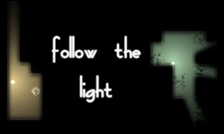 Screenshots of the Follow the light for Android tablet, phone.