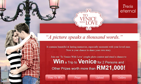 Tracia 'To Venice With Love' Photo Contest