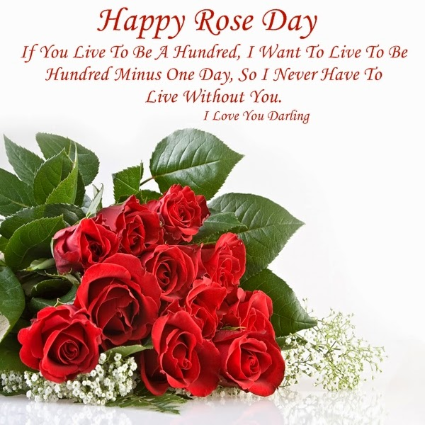 Happy Rose Day 2015 Wallpaper And Text Messages