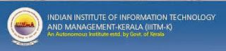 IIITM Kerala Recruitment 2013