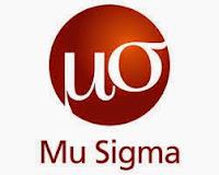Mu Sigma Off Campus Recruitment 2016
