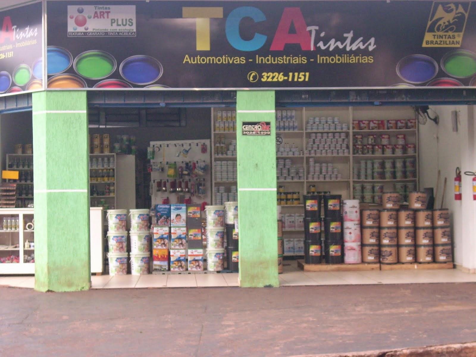 TCA TINTAS HÁ 17 ANOS PINTANDO COM QUALIDADE