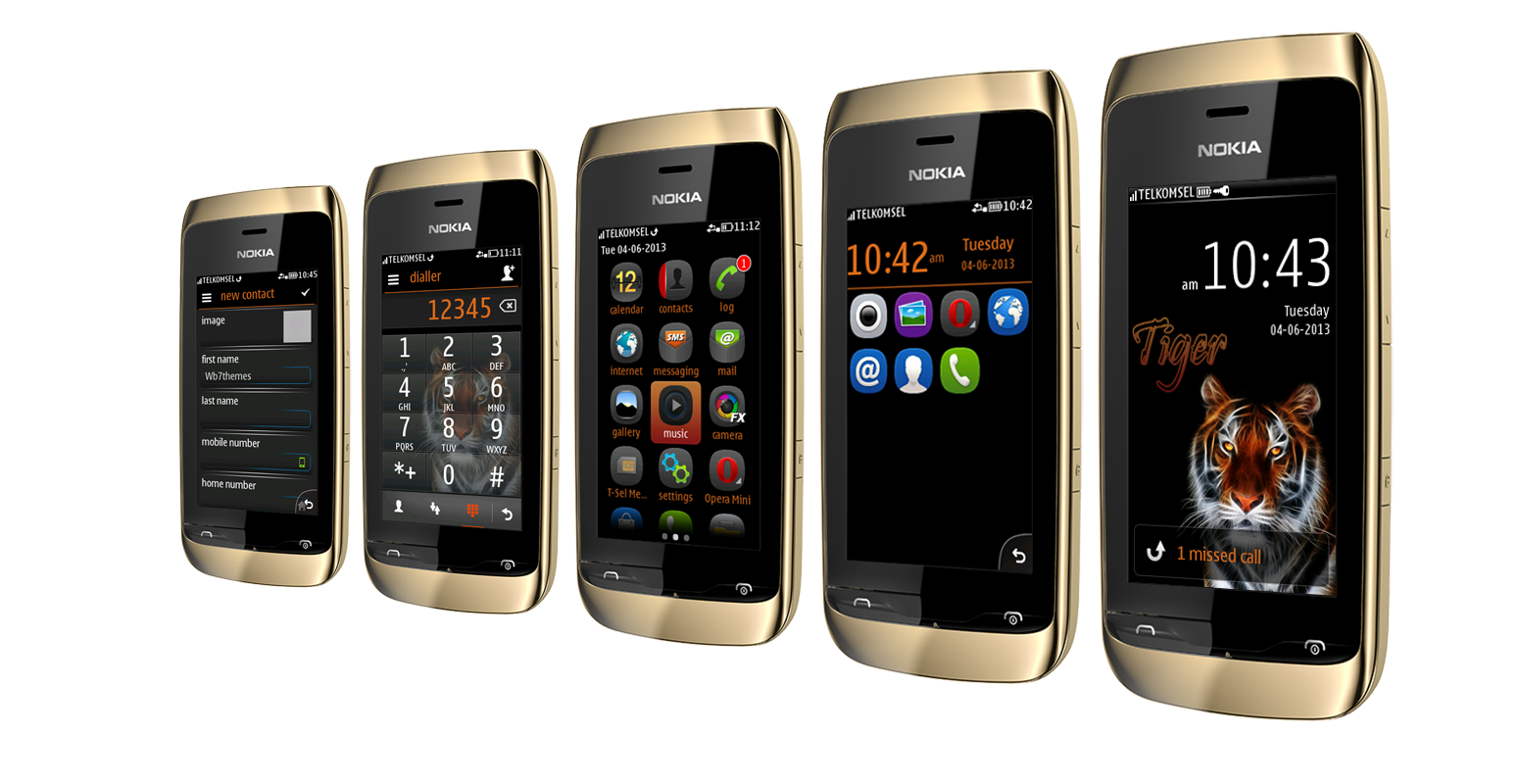 Supported phone: Asha 311 Asha 310 Asha 309 Asha 308 Asha 306 Asha 305