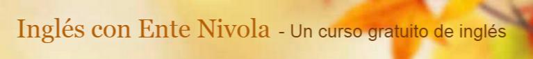 Aprende Inglés con Ente Nivola