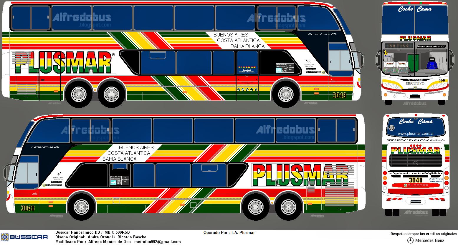 Bienvenidos a alfredobus desde venezuela llevando el - Autobuses larga distancia ...