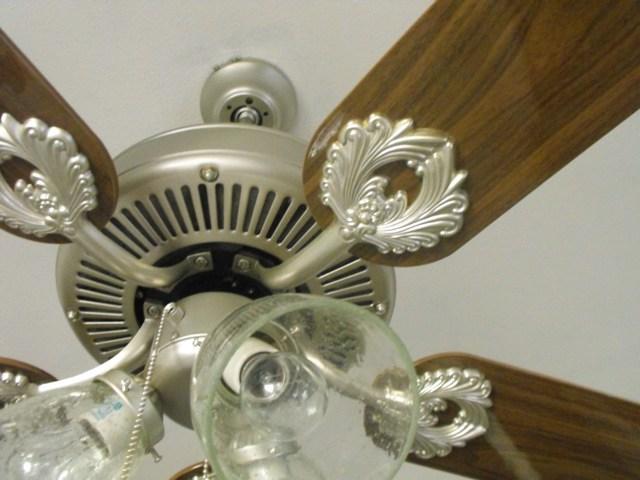 Paint Ceiling Fan : Susie harris painting a ceiling fan