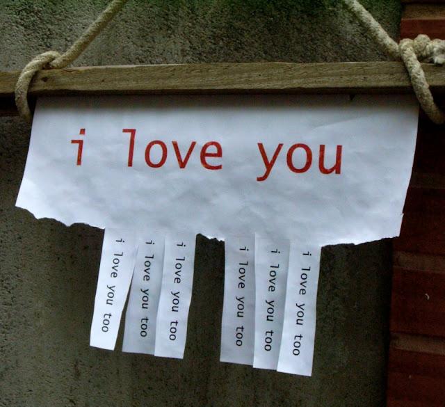 i love you -- i love you too ...
