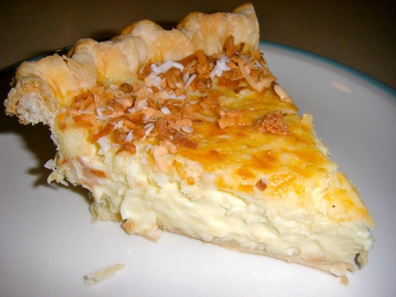 Stargal's Cosmos: Coconut Custard Pie