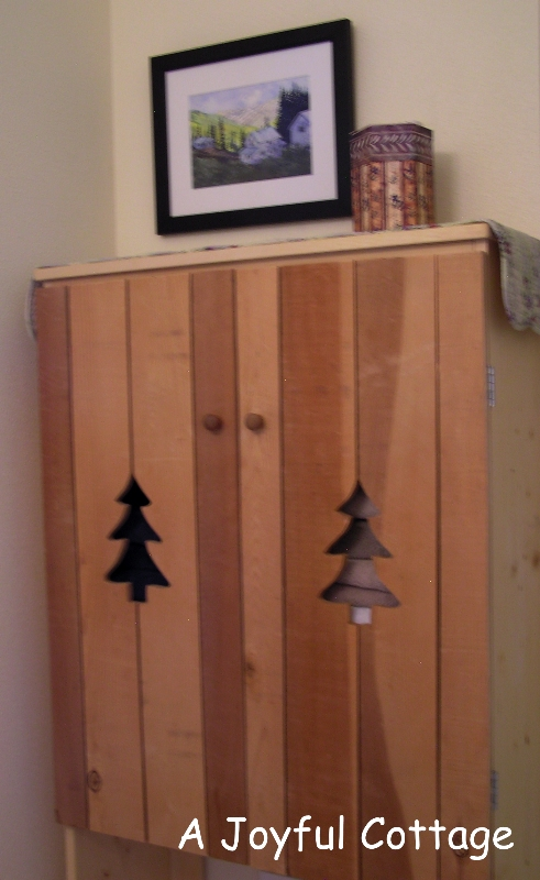 joyful cottage diy bathroom cabinet