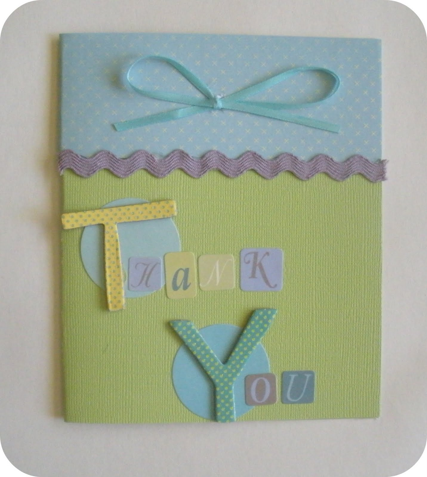 Crafty Critique Handmade Thank You Cards