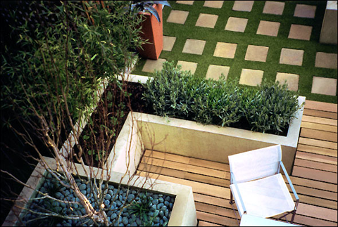 Best modern garden design by amir schlezinger for Xd garden design