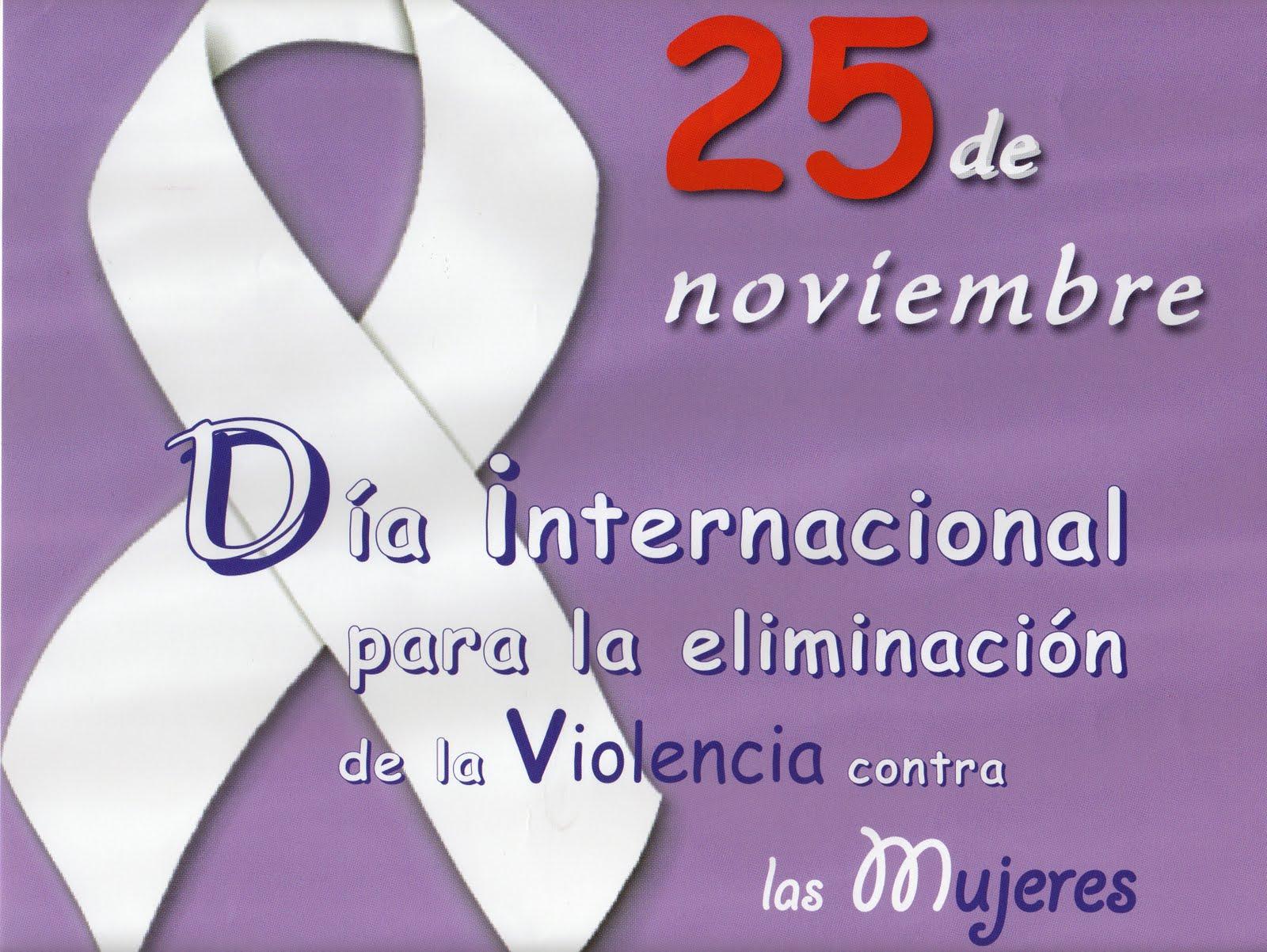 25 de noviembre dia internacional: