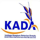 Jawatan Kosong Lembaga Kemajuan Pertanian Kemubu (KADA) - 15 Disember 2012