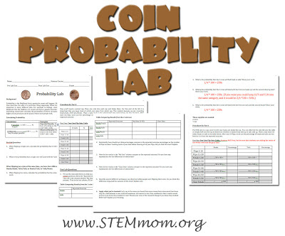 Free Coin Probability Lab: STEMMom.org